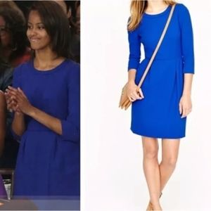J.Crew Royal Blue Teddie Dress